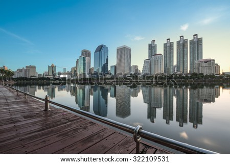condominium Bangkok, Thailand - stock photo