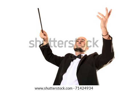Conductor - stock photo