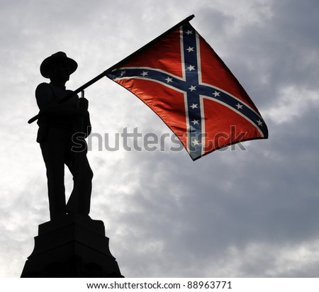 Confederate Memorial Day - stock photo