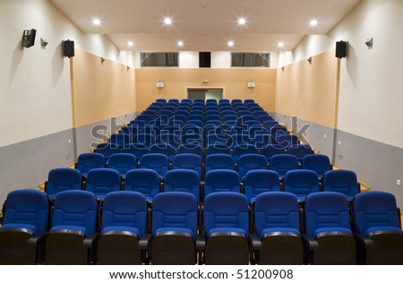 conference and congress room - stock photo