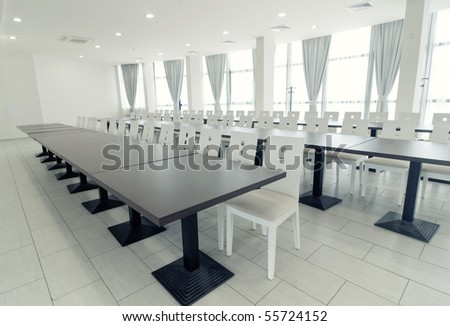 conference hall - stock photo