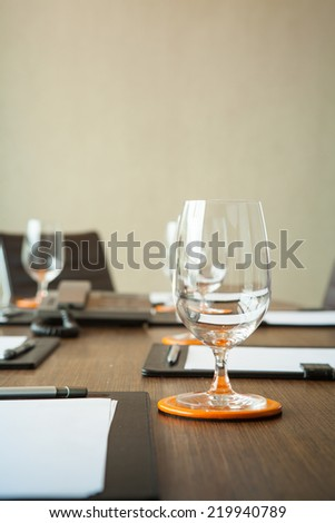 Conference Room. - stock photo