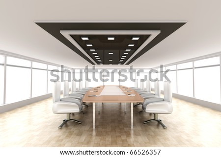 Conference Room - stock photo