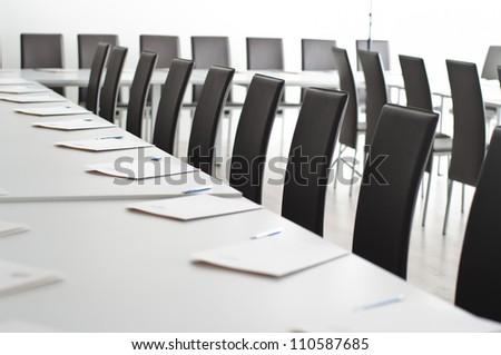 Conference room interior - stock photo