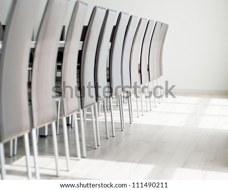 Conference room interior. - stock photo