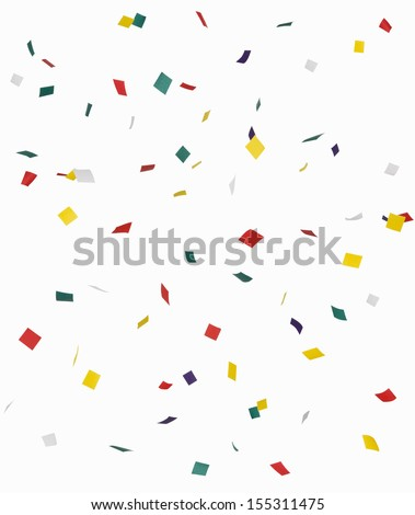 Confetti - stock photo