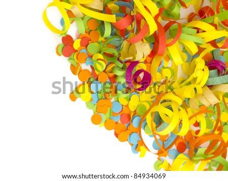 confetti decoration - stock photo
