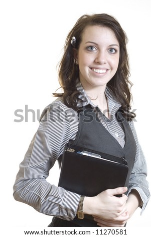 Confident businesswoman. - stock photo