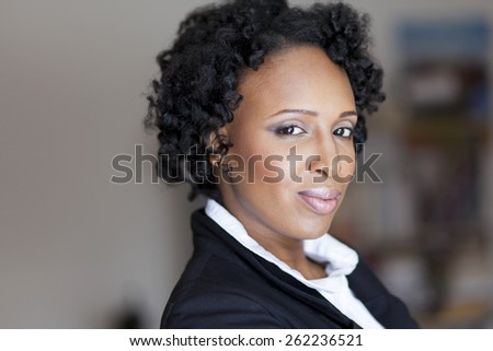 Confident Mature Businesswoman At The Office - stock photo