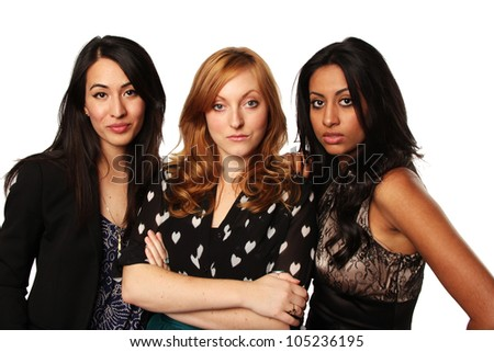 Confident Young Business Women - stock photo