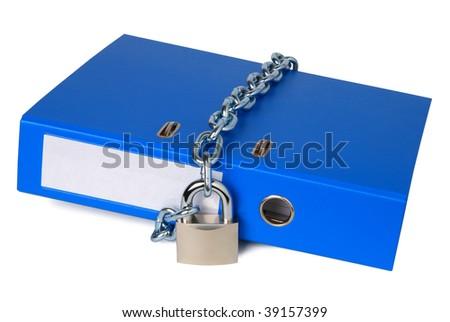 Confidential data - stock photo