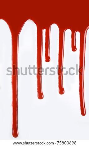 confluent blood - stock photo