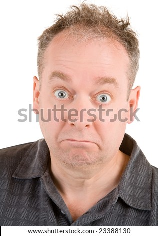 Confused - stock photo