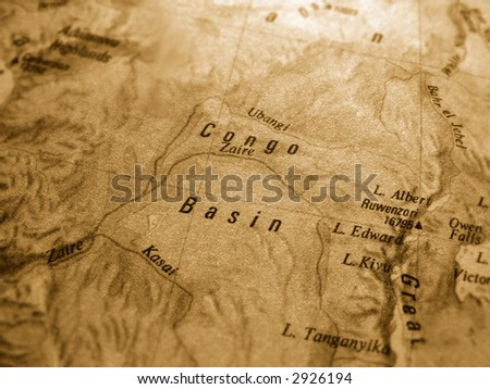congo - stock photo
