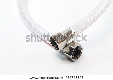 Connecting clear water - stock photo