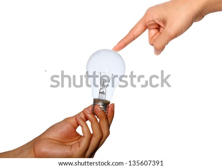 connection concept isolated on white background - stock photo