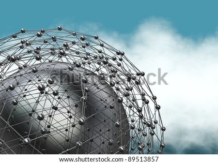 Connections - stock photo
