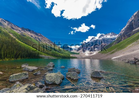 Consolation Lake - stock photo