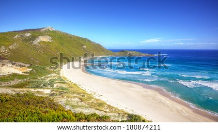 Conspicuous Beach, near the town of Walpole in Western Australia. - stock photo