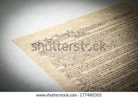 Constitution - stock photo