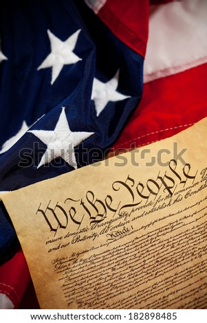 Constitution: Focus on We The People Wording in Document