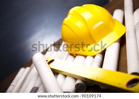 Constructing Plans - stock photo