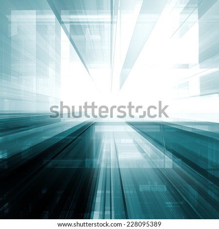 Construction abstract. Architecture design and model my own - stock photo