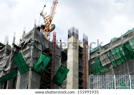 Construction Building - stock photo