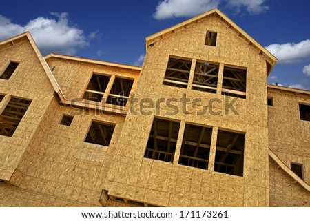 Construction Business. New Town Homes Under Construction. Construction Photo Collection.