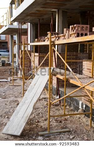 Construction crisis, spain - stock photo