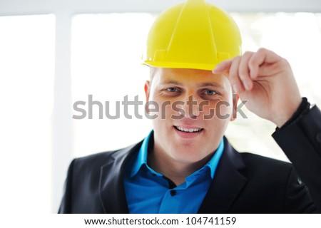 Construction guy - stock photo