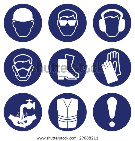 Construction Industry Health and Safety - stock photo