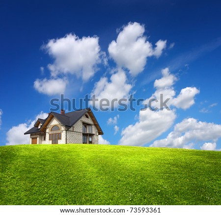 Construction investment - stock photo