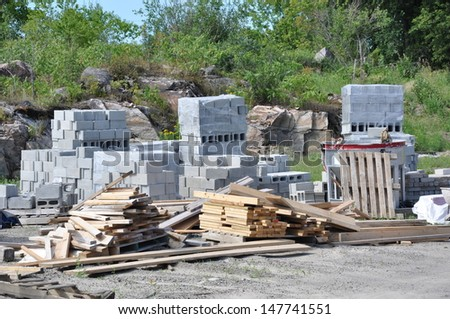 Construction materials - stock photo