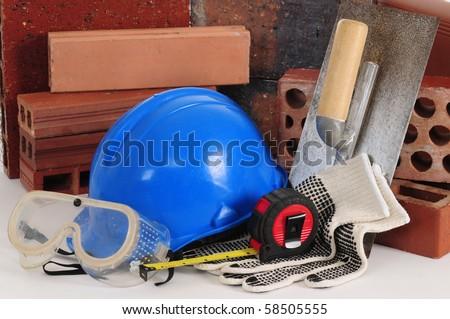 Construction objects. - stock photo