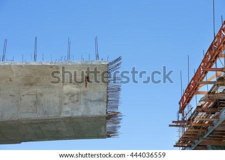 construction of bridge pier