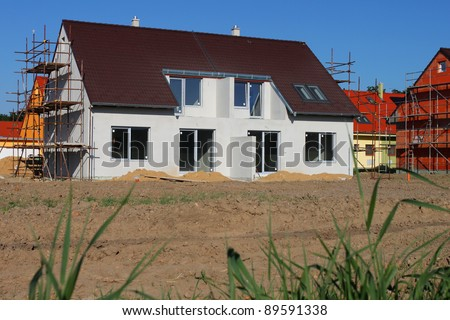 Images of semi detached houses