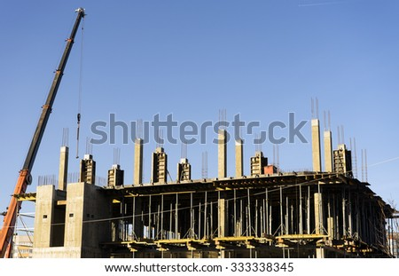 Construction of the building