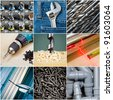 Construction or repair tools collection - stock photo