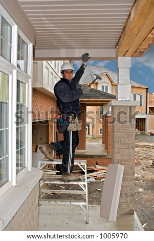 construction people 05 Tokarev Oshawa - stock photo