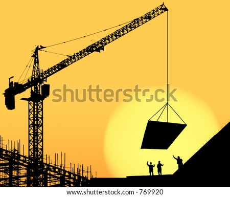 construction site 2 - stock photo