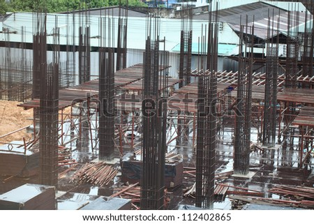 Construction site ,hospital office building