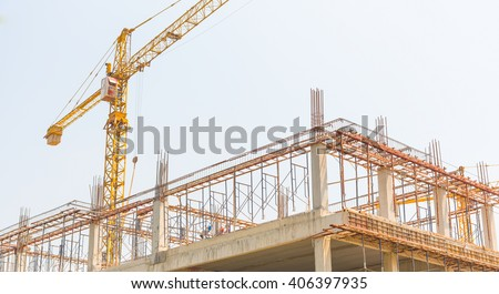 Construction Site or building construction