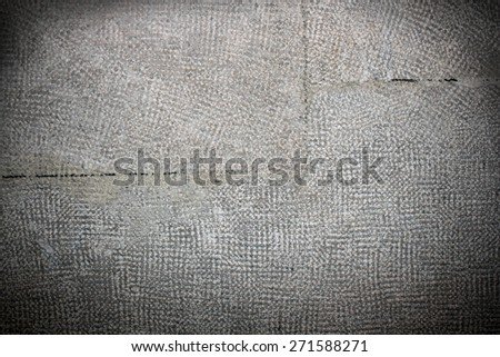 construction stone surface texture with vignette, ready for your design - stock photo