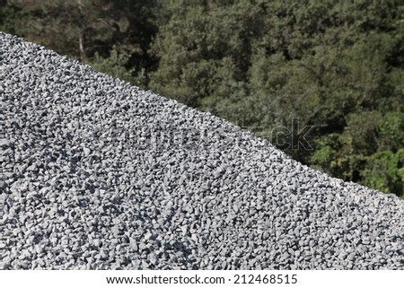 construction stones - stock photo