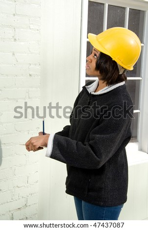 Construction Supervisor - stock photo
