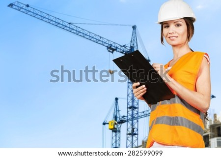Construction, Women, Female.