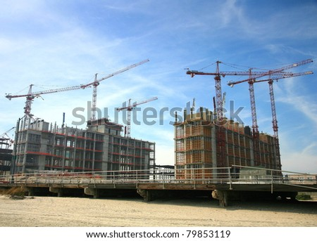 Construction work site