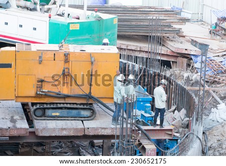 construction worker - stock photo