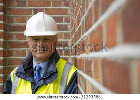 Construction Worker - Buildings Inspector - stock photo
